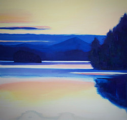 ADK oil painting