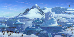 Here is Antarctica