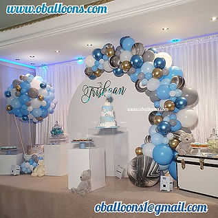 💙 Hot Air Balloon party theme 💙 with @
