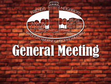 [Video] SEPTEMBER 18 - GENERAL MEETING
