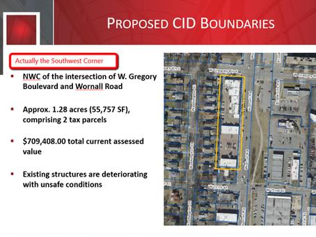 Romanelli Shops CID proposed, public feedback wanted