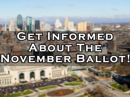 OCT 23 - Informational Town Hall about Kansas City, Missouri November Ballot