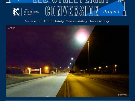 KCMO looking to cut costs by converting streetlights to energy-efficient LEDs