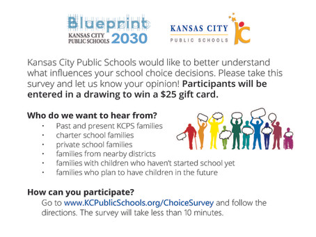 Kansas City Public Schools seek public input for Blueprint 2030.