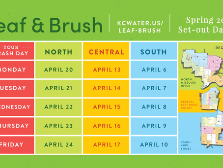 Leaf and Brush Collection in Waldo April 9-10