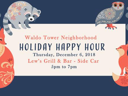 Dec 6 - Waldo Neighborhood Holiday Happy Hour