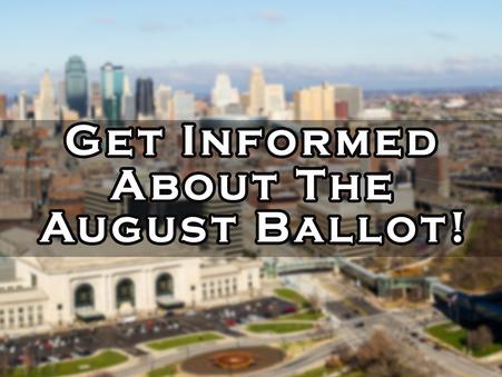 JULY 26 - Informational Town Hall about Kansas City, Missouri August Ballot