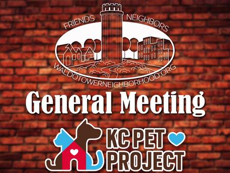 JULY 18 - GENERAL MEETING