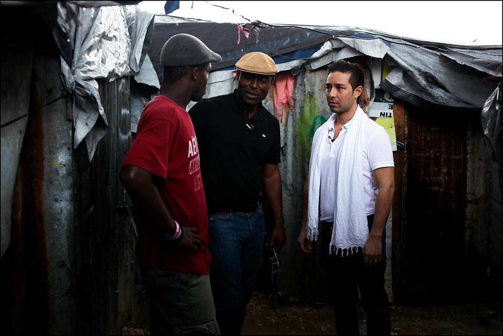 The Heart Fund - Jimmy Jean-Louis, Dr david Luu Haiti