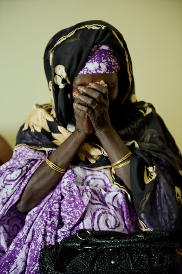 The Heart Fund - Mauritania - mother praying