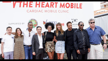 FILM - Didier Drogba follows The Heart Mobile clinic in Ivory Coast