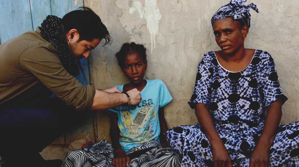 The Heart Fund - Mauritania - Heart surgeries - Heart check