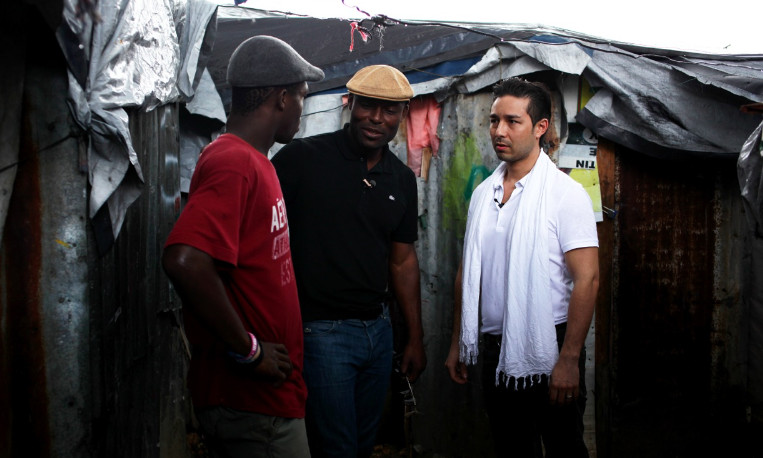 The Heart Fund - Jimmy jean-Louis & Dr David Luu on the fiel Haiti