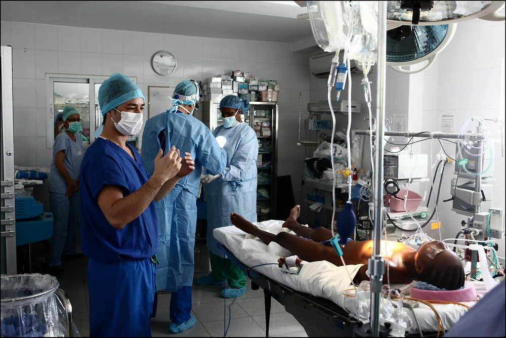 The Heart Fund - Operating room - Heart surgery byè Dr David Luu