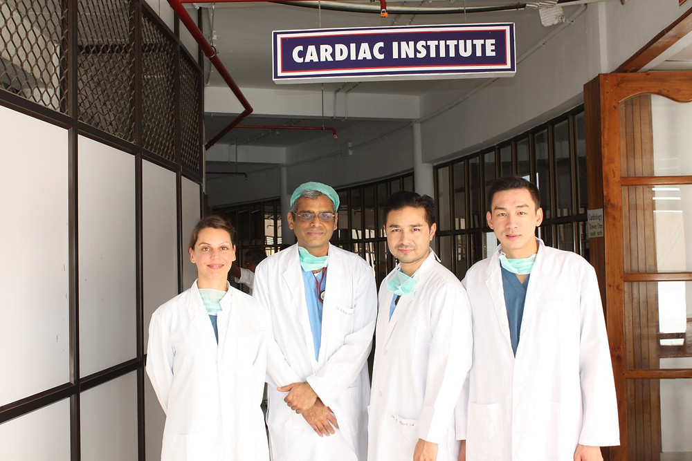 The Heart Fund - Humanitarian Mission - India - Virginie Gallardo David Luu & Paul Nguyen