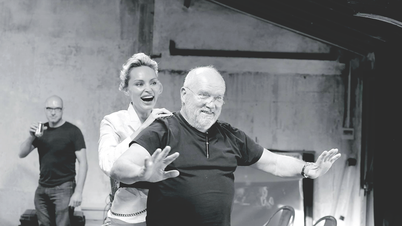 Awareness campaign — Inna Zobova uncovers in front of Peter Lindbergh's camera for The Heart Fun
