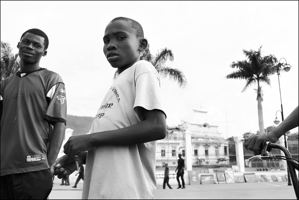 The Heart Fund - Haiti children in the street