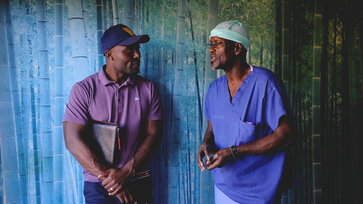 Cardiac surgery mission in Haiti — Actor Jimmy Jean-Louis joins The Heart Fund cardiac surgery on a