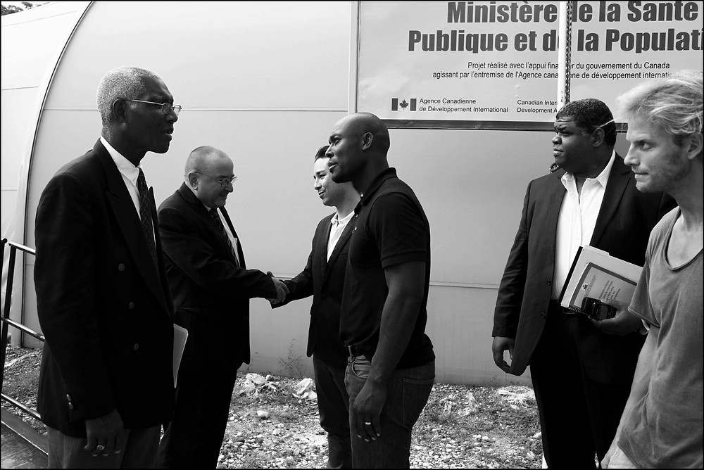 The Heart Fund meets Health Ministry in Haiti