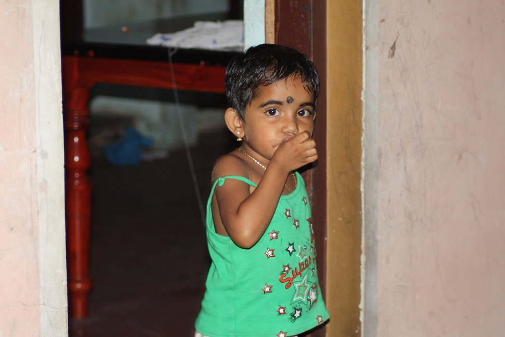 The Heart Fund - Humanitarian Mission - India - Child