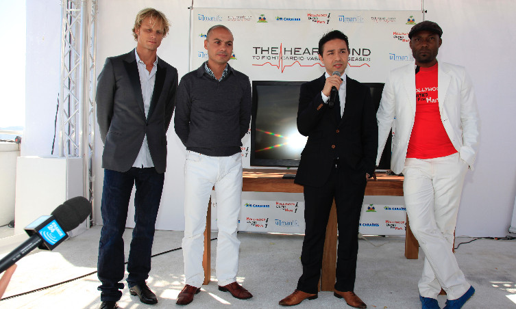 The Heart Fund's press conference