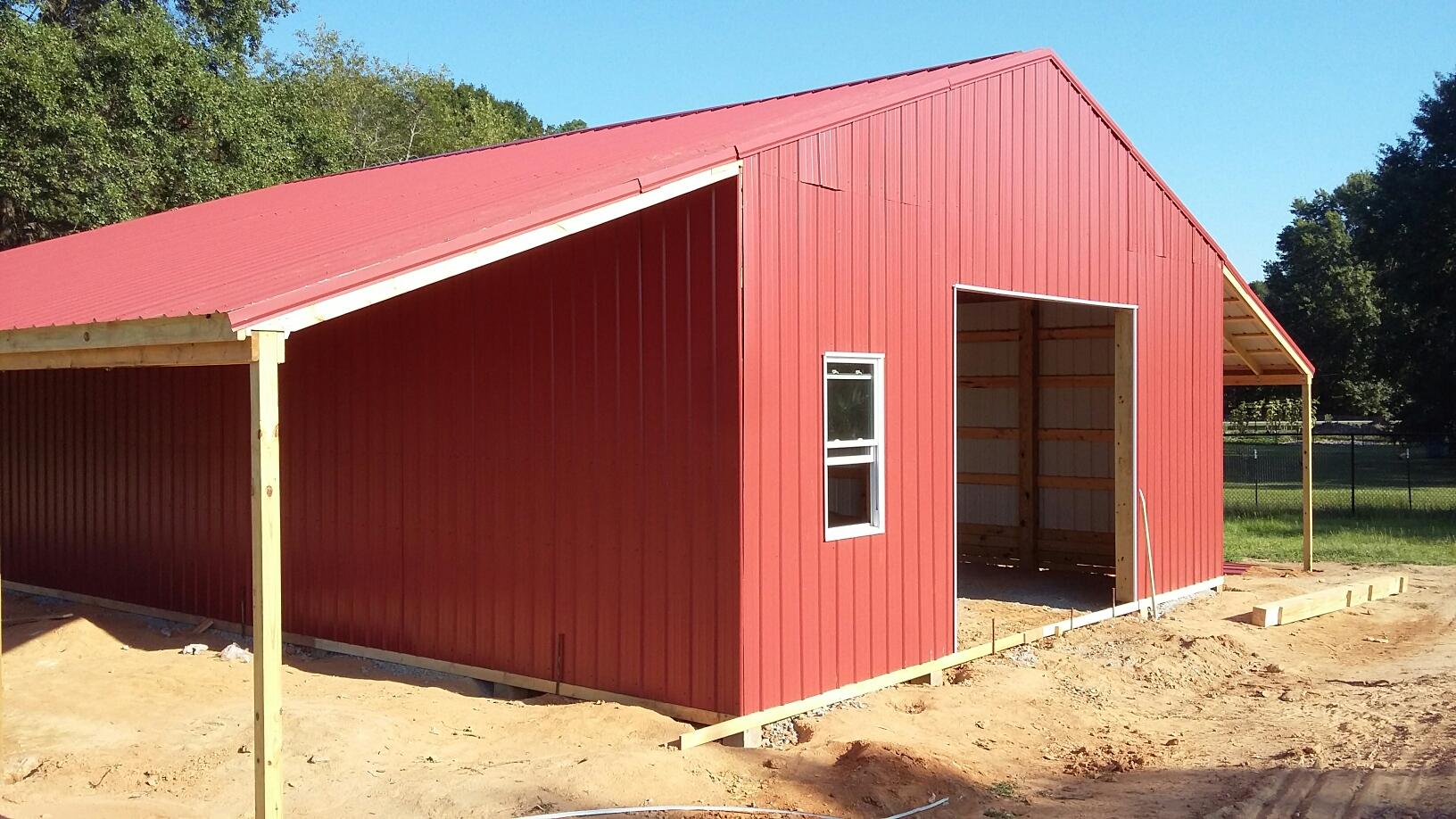 Barn built by GCI