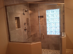 Shower Completed!