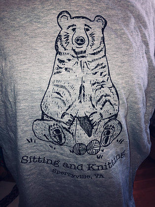 Pre-Order Sit and Knit Bear T-shirt