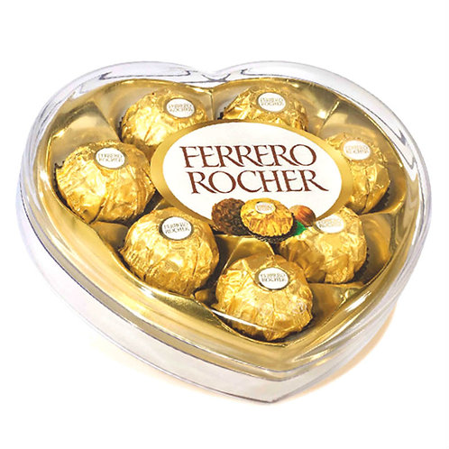 CHOCOLATES FERRERO ROCHER CORAZÓN 8PZ