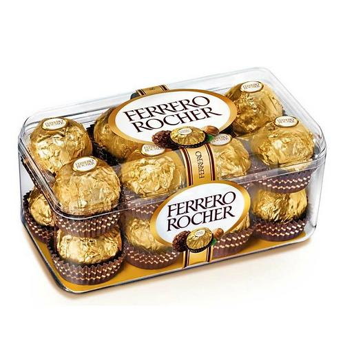 CHOCOLATES FERRERO ROCHER 16PZ