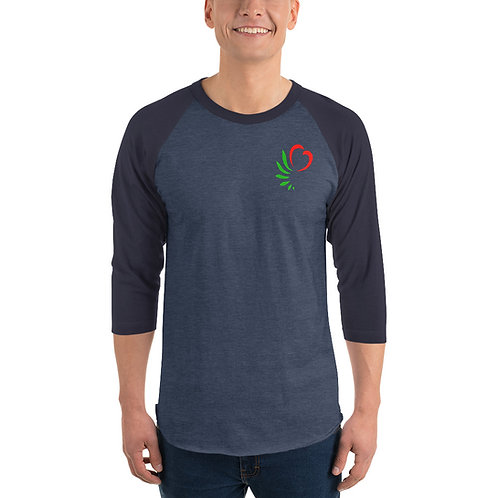 Unisex 3/4 Sleeve Raglan Shirt | Tultex 245