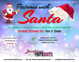 12.05.2020 - pictures with Santa booking