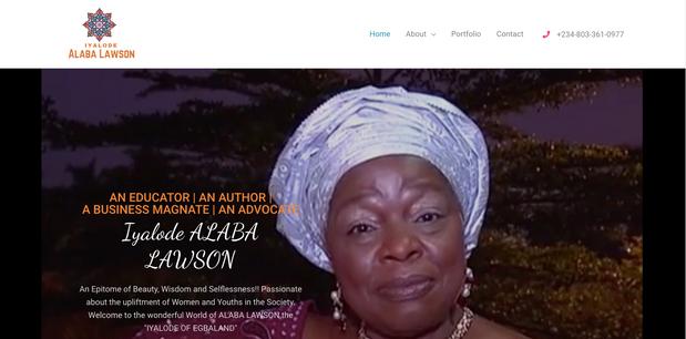 Iyalode Alaba Lawson