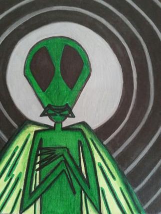 Praying Mantis Man