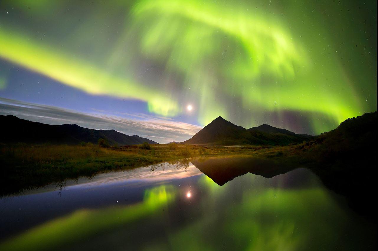 Northern Lights Yukon Canada Joseph Brad