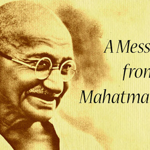 The Mahatma Consciousness | Attunement & Message from Gandhi