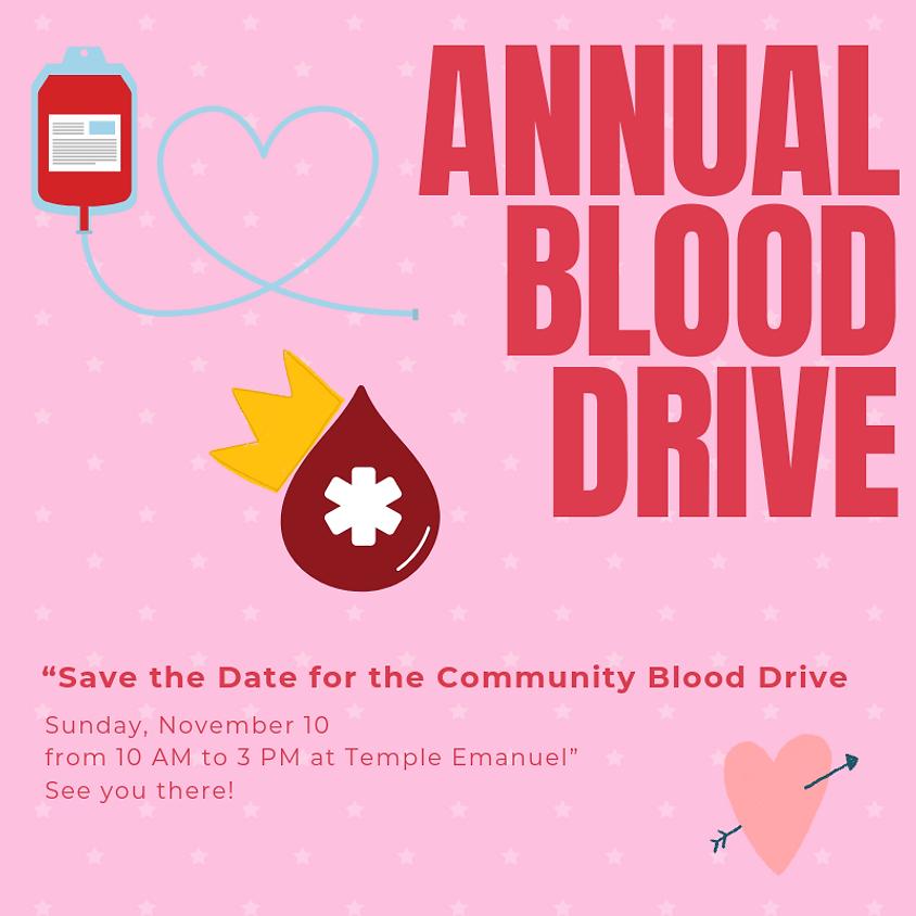 Annual Community Blood Drive
