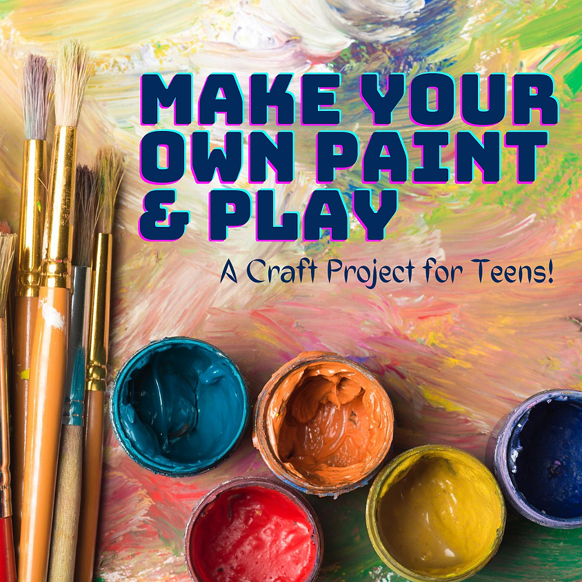 Make Your Own Paint & Play