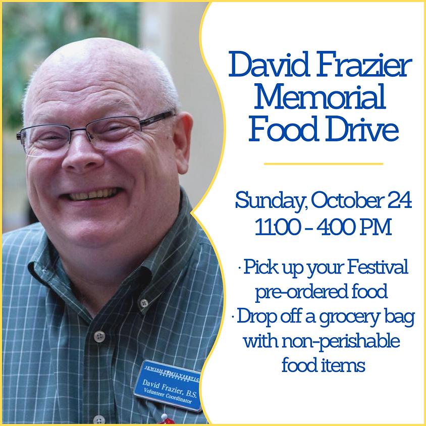 David Frazier Memorial Food Drive