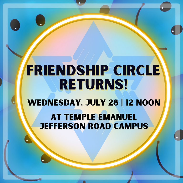 Friendship Circle Returns!