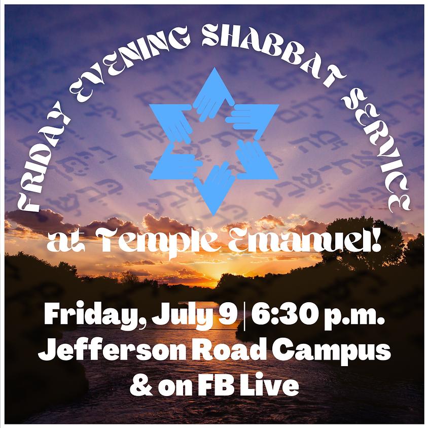 Friday Shabbat Service  (07/09/21)