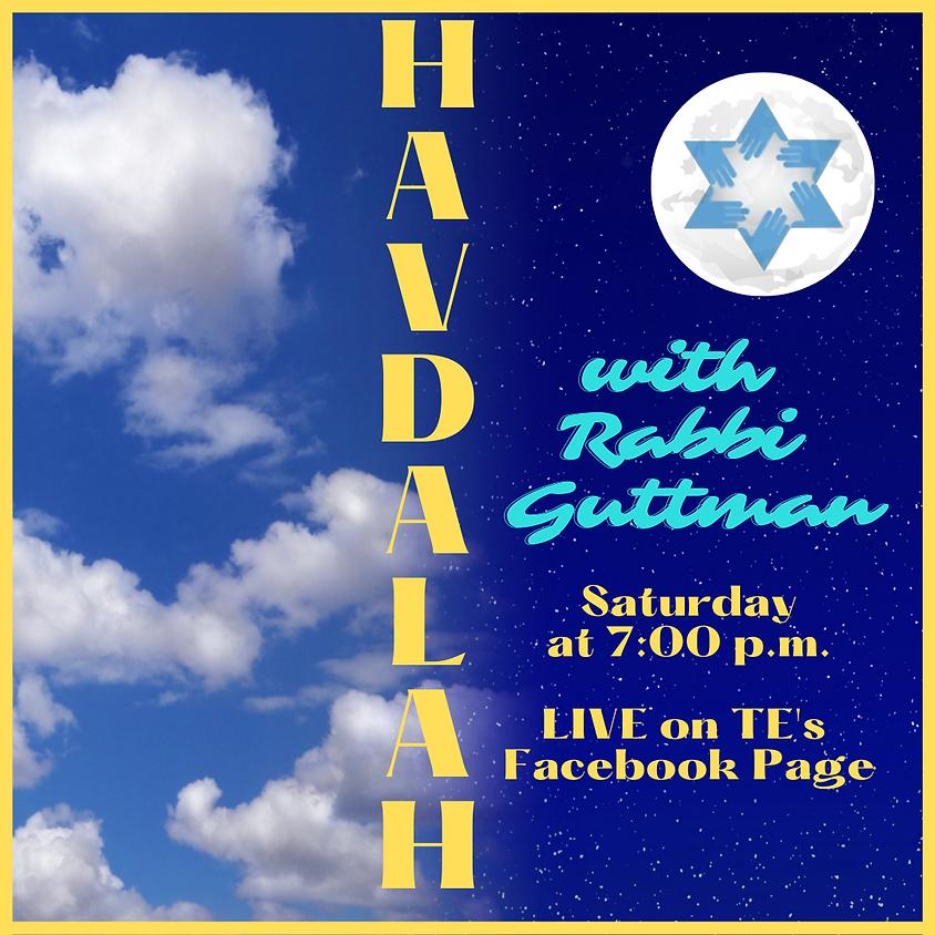 Havdalah with Rabbi Guttman