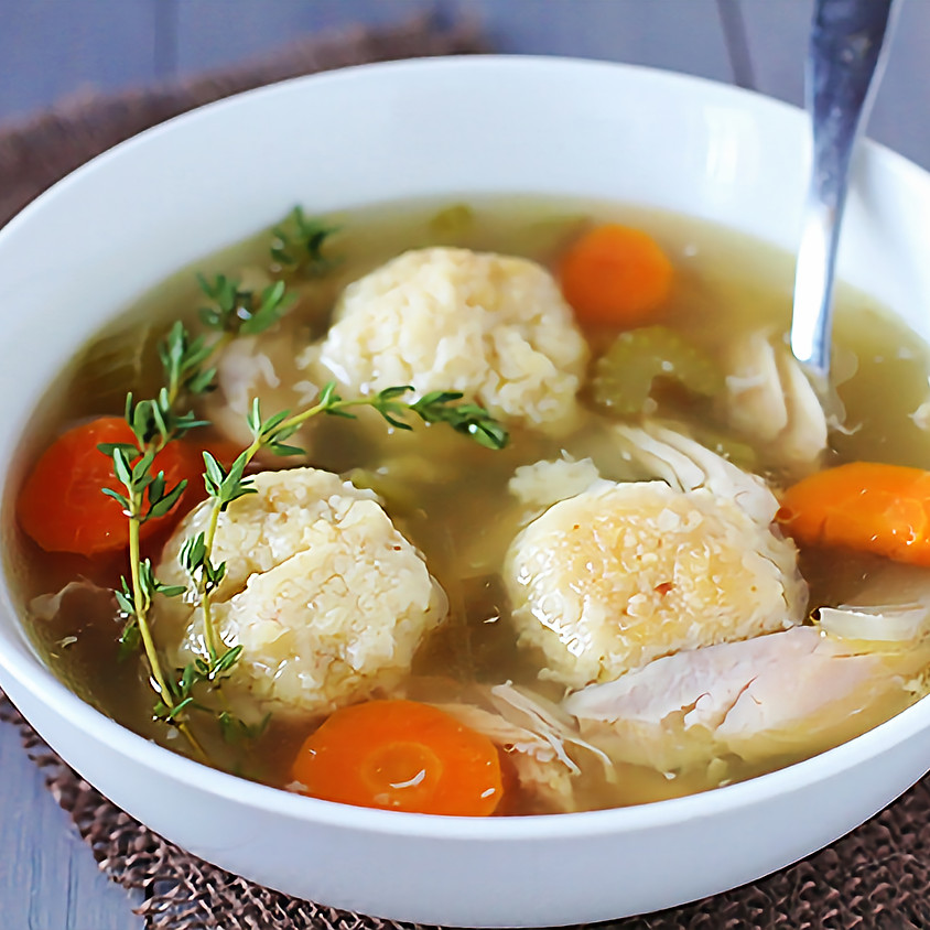 Matzo Ball Soup Volunteering