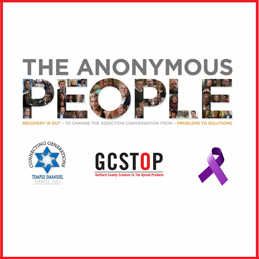 """""""The Anonymous People"""" Film and Panel Discussion"""