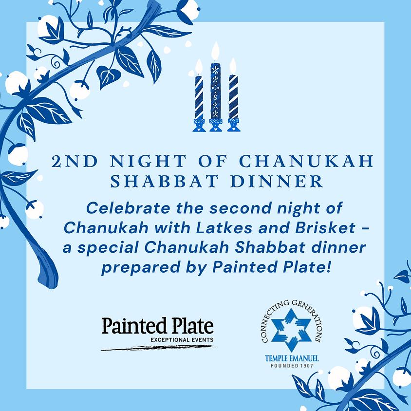 2nd Night Of Chanukah Shabbat Dinner