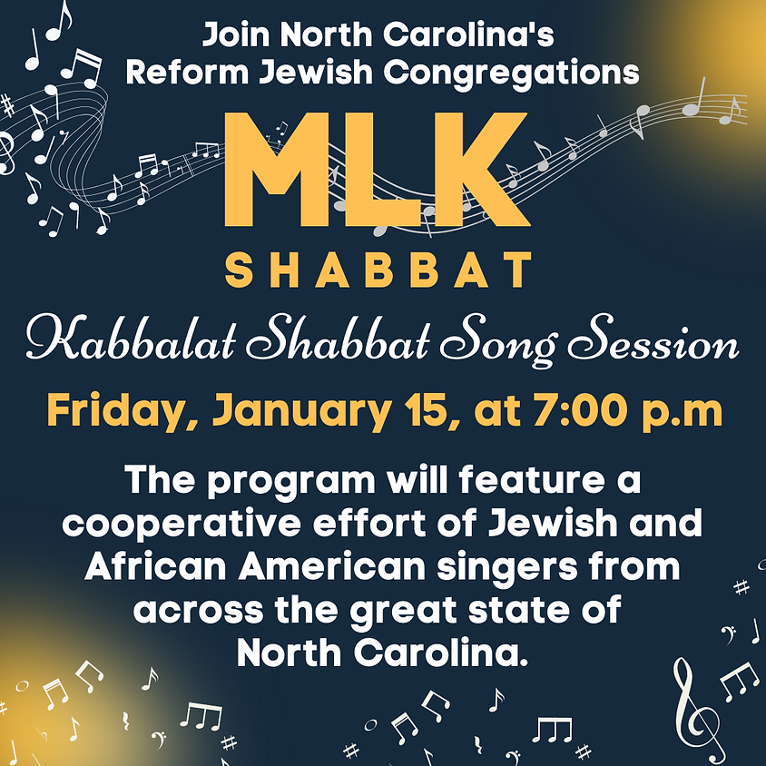 Kabbalat Shabbat: Merge Our Voices for Martin Luther King