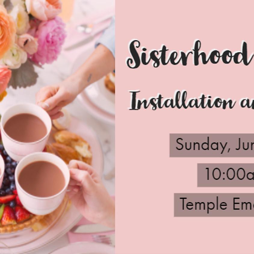 Sisterhood Annual Brunch and Installation Service