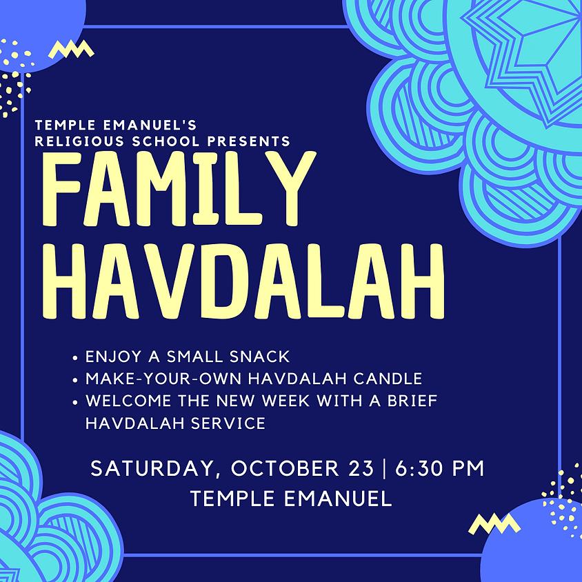 Family Havdallah