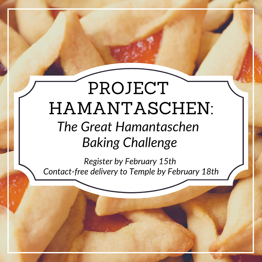 Project Hamantaschen