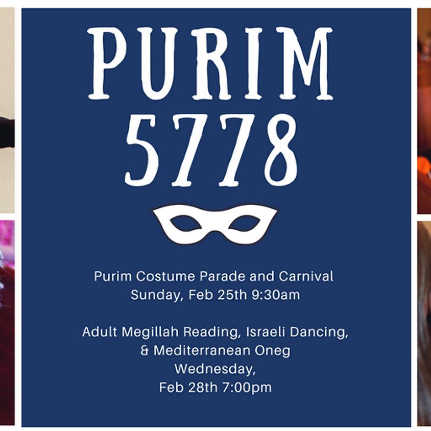 Purim Celebrations at TE!